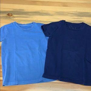 Mini Boden T-shirt set.
